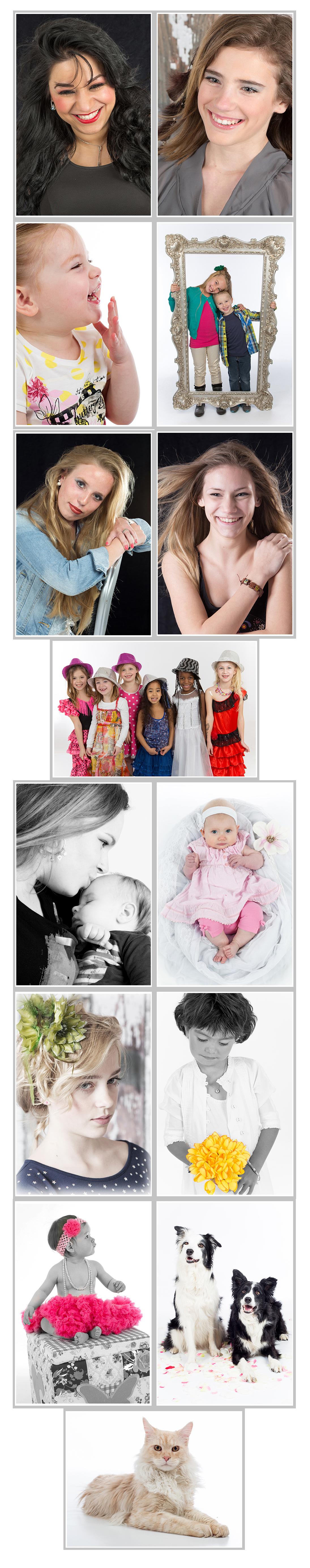 Portretfotografie, kinderfotografie, newbornfotografie en huisdierenfotografie Dordrecht