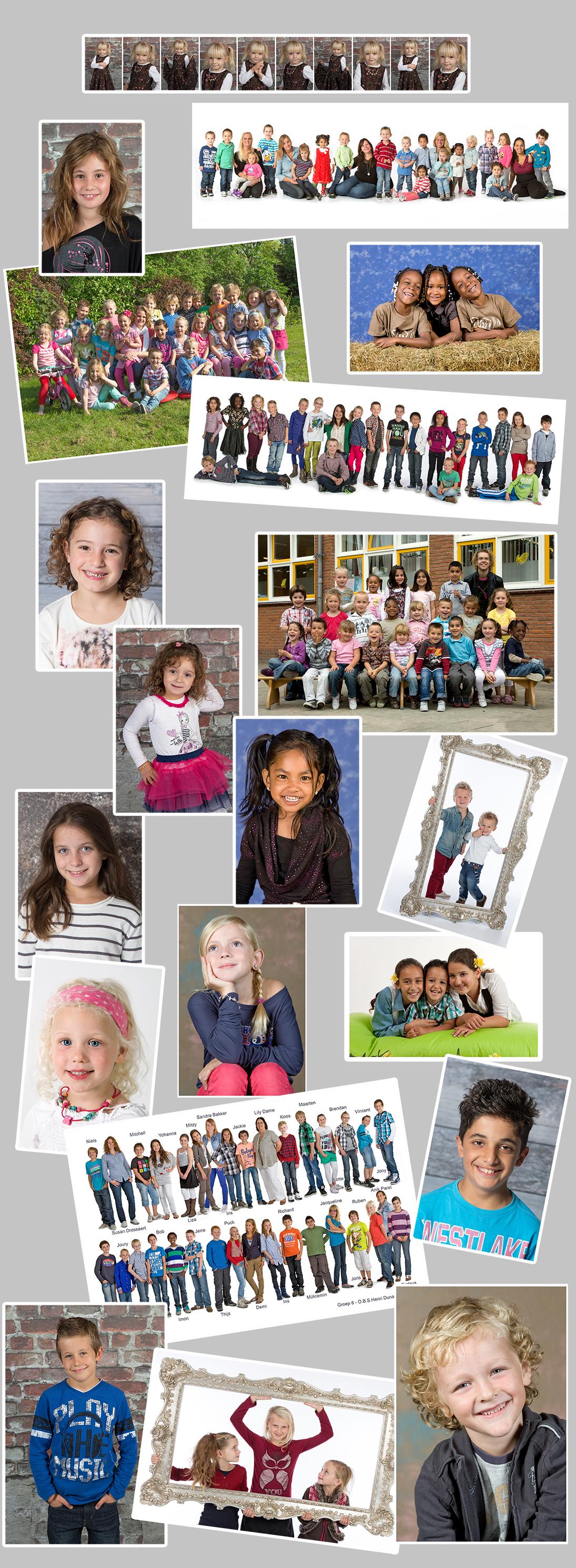 Schoolfotografie Dordrecht Studio Calimero