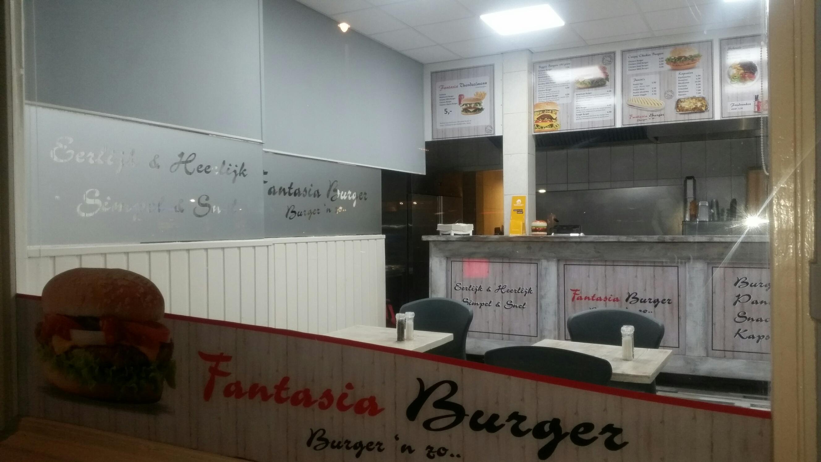 Interieur Fantasia Burger Amsterdam