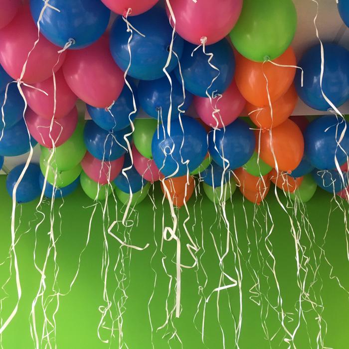 Versiering met ballonnen