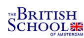 Logo The British School of Amsterdam