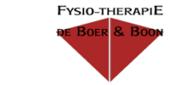 Logo De Boer & Boon Fysiotherapiepraktijk