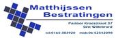 Logo Matthijssen A & T bestratingen BV