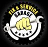 Logo Garage Fix en Service