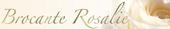 Logo Brocante Rosalie