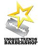 Logo Unique Trends Barbershop
