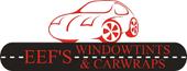 Logo Eef's Windowtints & Car wraps